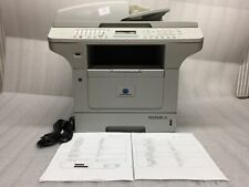Konica Minolta Bizhub 20 All-In-One 63159 Pages Printed w/ Power and USB Cables