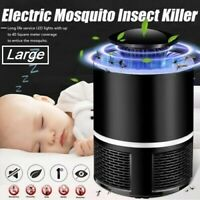 Electric UV Mosquito Killer Lamp Outdoor/Indoor Fly Bug Insect Zapper Trap USB