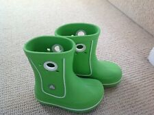 Crocs Wellies Boots Kids Boy Girl Unisex Lemon Green Size 8