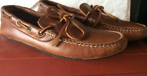 Quoddy Camp Driver Shoes US Men's Size 9 Made in the USA