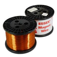 24 Gauge ESSEX Enameled Copper Magnet Wire 8694 Feet 11 LB Spool Generator Wire