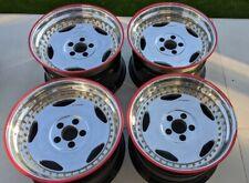 "OZ Breyton 18"" 3 Piece Split Rims Deep Dish Alloy Wheels Custom Euro Classic"