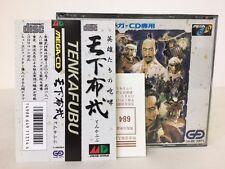 Sega Mega CD Tenka fubu Tenkafubu Japan JP GAME z2745