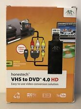 Honestech VHS to DVD 4.0 HD Conversion Kit - New In Box