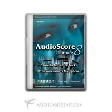 Avid Sibelius Audioscore Ultimate 8 - 99006568000