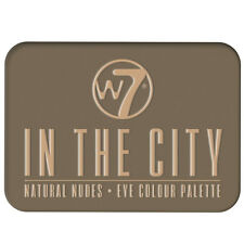 W7 Makeup Make Up Eye Shadow Palette Naked Nude Natural Colours - In The City