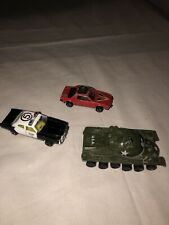 Vintage Lot of 3 Diecast Zylmex 1/64 Cars