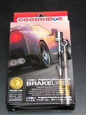 24218 Goodridge S SSteel Brake Line Kit Fits 2008-2013 Subaru Impreza WRX