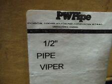"Pipe Viper (1/2"") (10pcs) yellow"