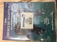 Mercury/Mariner V6 Powerhead Outboard Tuneup & repair Manual Vlll 1990-1994Model