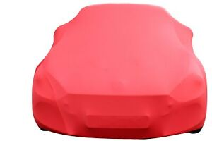 ABARTH / FIAT 124 SPIDER INDOOR CAR COVER - TAILORED - CUSTOM COVERS - RED