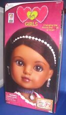 HEART FOR HEART GIRLS NAHJI (INDIA) COLLECTOR DOLL WORLD VISION, NEW