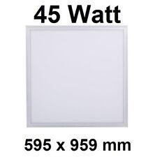45 Watt LED Panel Paneel, WEISS 595 x 595 mm, Kaltweiß 6000 K, 3600 Lumen