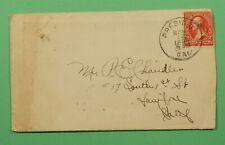 DR WHO 1899 DPO 1888-1902 PRESIDIO CA + LETTER C241511