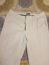 Mens 34x32 White Nautica Jeans