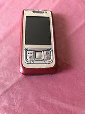 Nokia E 65 Red Unlocked