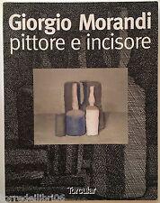 GIORGIO MORANDI pittore e incisore  Ediz. Torcular 1997