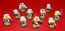 Warhammer 40k Space Marine Space Wolves Blood Claws Squad x10 Metal & Plastic