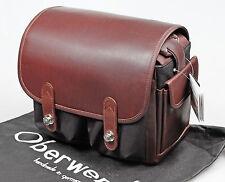 Oberwerth Fototasche Wetzlar Cordura Leder braun elegant + sicher f. Leica M