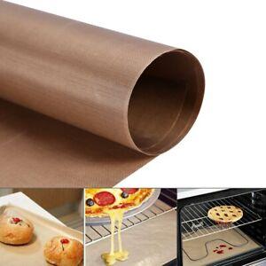 60*40cm No-Stick Silicone Fibreglass Baking Mat Oven Dough Rolling Cake Mat