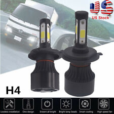 For Hino 145 165 185 258 268 338 White LED Headlight Light Bulb Conversion Kit
