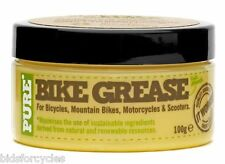 WELDTITE PURE NATURAL BIKE GREASE 100g BIKE CYCLE BICYCLE SCOOTER MOTORCYCLE