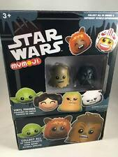 Funko STAR WARS MyMoji EMPTY DISPLAY BOX case w/ Chewbacca & Darth Vader Figures