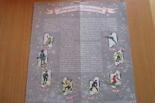 Pospekt Österreich Skisport Personen und Verbänden 1950, 4 Seiten