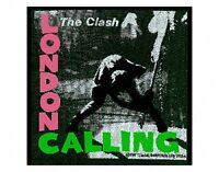 CLASH london calling 2004 - WOVEN SEW ON PATCH official merchandise