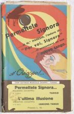 1933 PAVESIO PERMETTETE SIGNORA L'ULTIMA ILLUSIONE