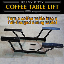 Lift Up Top Convertible Coffee Table Hinge DIY Hardware Fitting Spring D