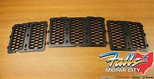 2014-2016 Jeep Grand Cherokee Black Honeycomb Grille Inserts Mopar OEM