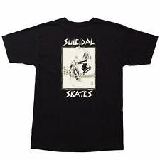 Dogtown X Suicidal Tendencies Pool Skater Shirt Black Xl w/Lance Mountain Art