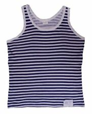 Unbranded Striped Sleeveless T-Shirts for Men