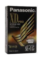 PANASONIC XD PRO SE-C45   Cassette S VHS C  Video Vierge (Réf#N-027)