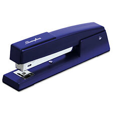 Swingline 747 Classic Full Strip Stapler 20-Sheet Capacity Royal Blue 74724