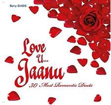 LOVE U... JAANU 30 MOST POPULAR ROMANTIC DUETS FROM BOLLYWOOD FILMS 2 CD SET