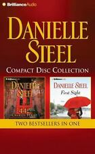 Danielee Steel Compact Disc 44 Charles St and First Sight, Two complete books