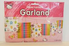 Sanrio Amscan Hello Kitty 12' Paper Lantern Garland - New In Package! Free Ship!