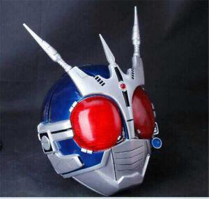 Kamen Rider Cosplay Helmet Resin Wearable LED Model Masked Rider Headgear Prop