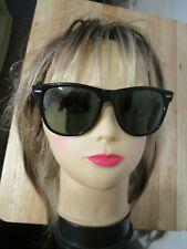 Vintage Bausch & Lomb RAY-BAN  B&L L1724 Wayfarer BLACK large Unisex sunglasses