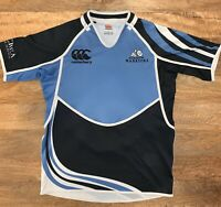 Glasgow Warriors Rugby Union Jersey Canterbury Mens Large