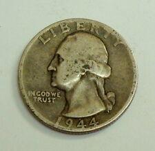 1944 Washington Quarter 90% Silver Coin