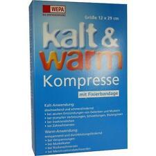 KALT-WARM Kompresse 12x29 cm mit Fixierband 1 St