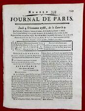 Soleil Astronomie 1788 Lalande Herschel Arcturus Médecine Vollant Journal Paris
