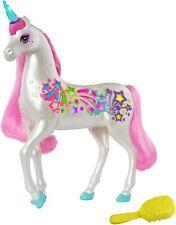 Barbie Dreamtopia Regenbogen-Königreich Magisches Haarspiel Einhorn, Pferd