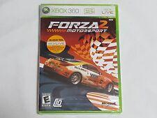 NEW (Read) Forza Motorsport 2 XBox 360 Game SEALED (light wear) car race US NTSC