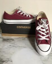 Converse Women's Chuck Taylor All Star Low Top/ Burgundy - Size 6