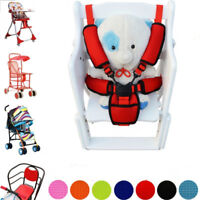 Baby 3Pcs Car Seat and Pushchair Belts Crotch Cover Harness Shoulder Straps Pads