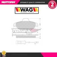 10721 Kit pastiglie freno a disco ant.Fiat-Lancia (MARCA-WAG)
